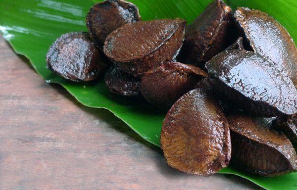 La castaña è anche detta noce amazzonica.