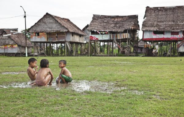 Children in Iquitos, Peru. Ph. Yofre E. Morales Tapia.