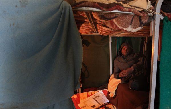 Libia: centro di detenzione per immigrati illegali e richiedenti asilo. Ph Giovanni Diffidenti