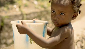 garantisci acqua pulita ad una famiglia di Haiti