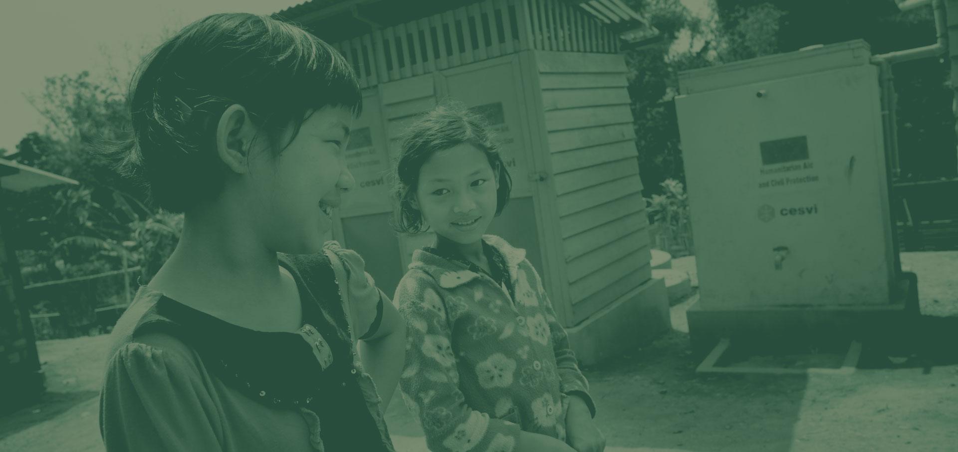 Acqua e speranza in Kachin