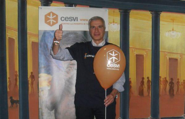 Nicola Giuliano, uomo di grande esperienza nell'associazionismo e nel volontariato, con il Gruppo di Napoli diffonde i progetti di Cesvi organizzando mostre, momenti di animazione per i più piccoli e raccolte fondi.