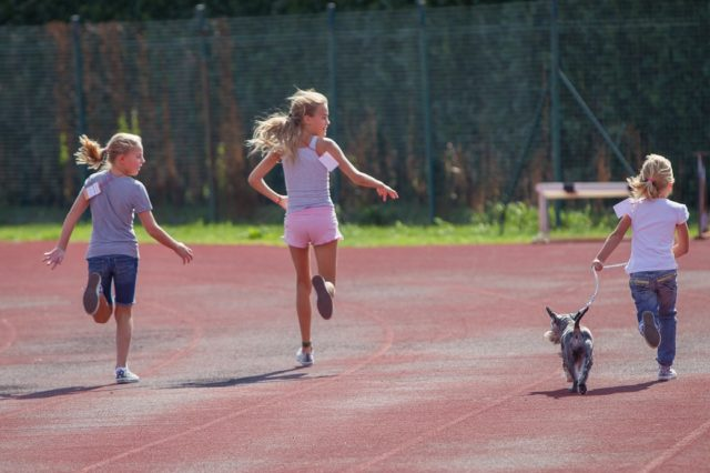 Bambine per la Tribù che Corre, edizione 2012.