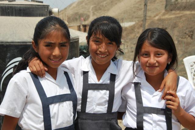 Bambine della Casa del Sorriso - Perù