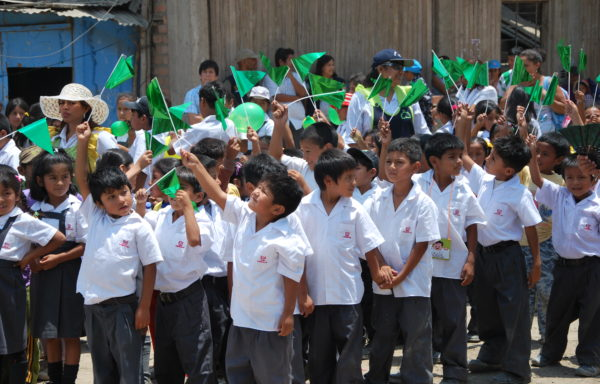 Bambini in festa - Perù