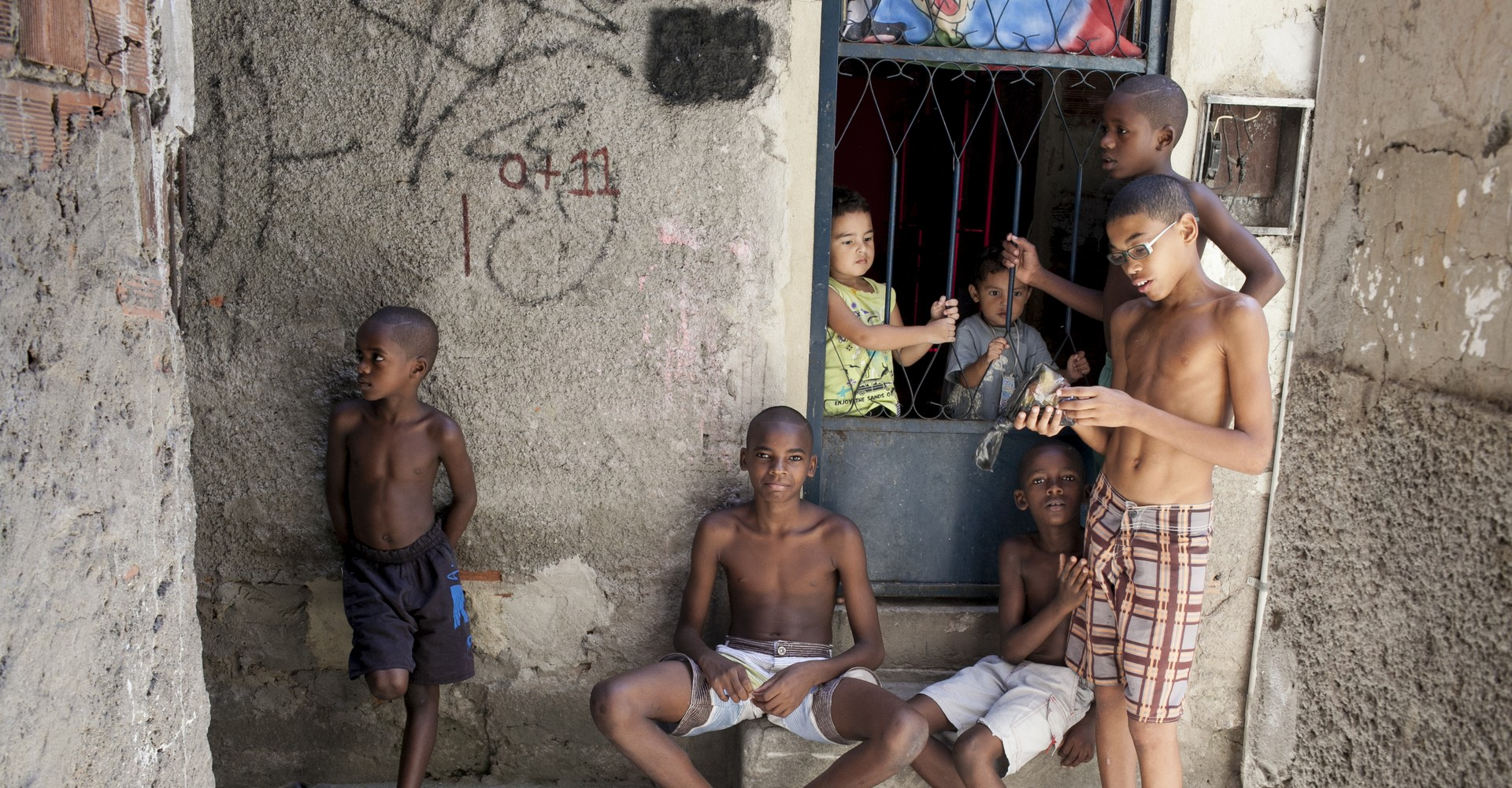 brasile povertà, aiutare i bambini