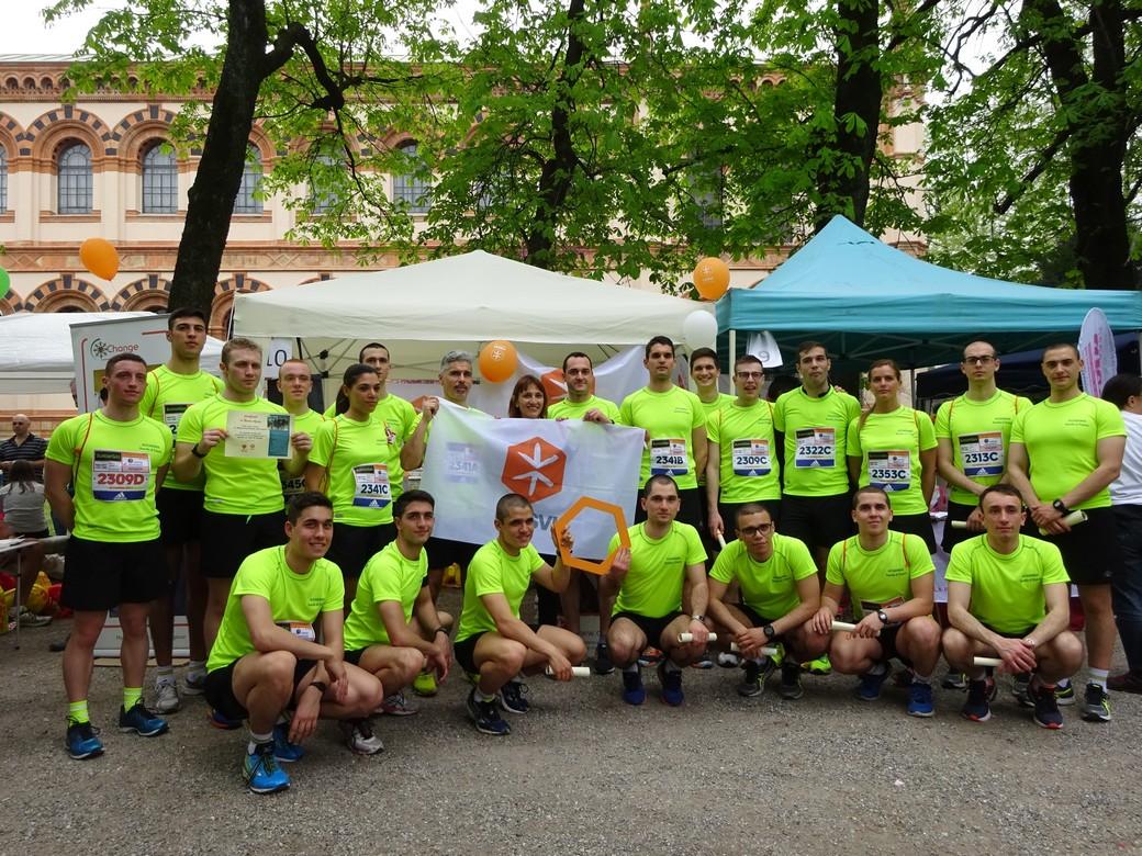 Milano Marathon con Cesvi, edizione 2016.