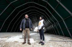 Milena di Cesvi con Marco Terribile. Foto di Roger Lo Guarro.