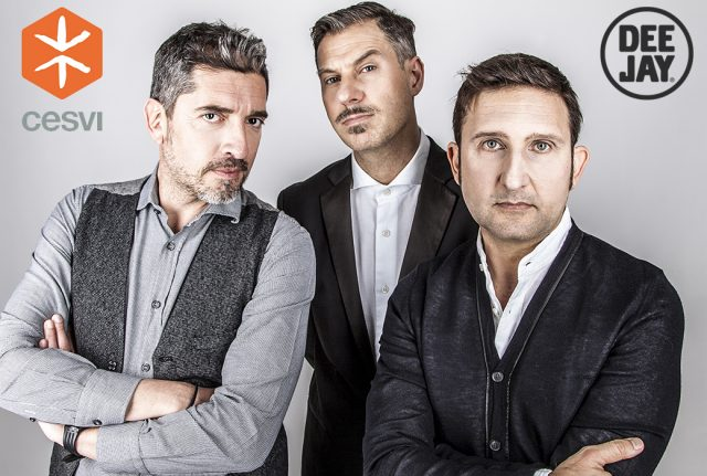 Il Trio Medusa testimonial per Cesvi.