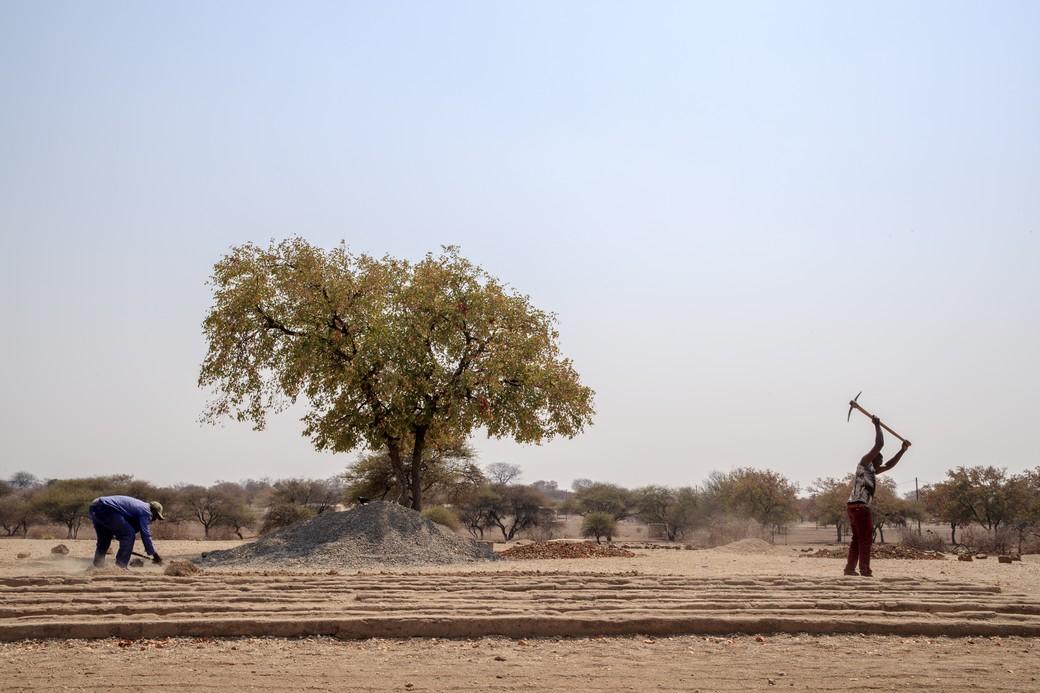 In Zimbabwe Cesvi promuove la sicurezza alimentare e il raggiungimento dell'Obiettivo Fame Zero con l'agricoltura sostenibile. Foto di Giovanni Diffidenti, 2018.