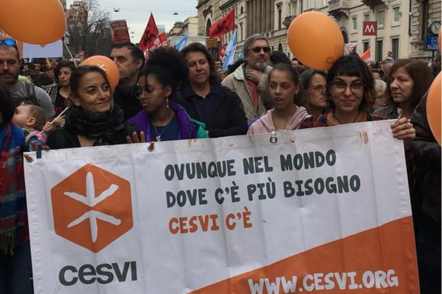 manifestazione 2 mazro 2019 milano