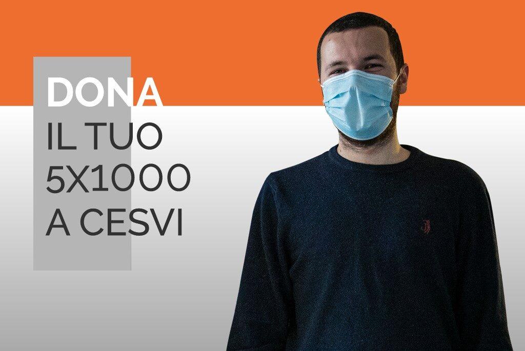 volontario Bergamo 5x1000 Cesvi