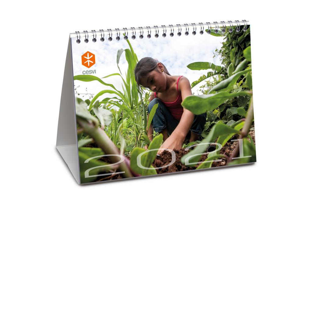 regali aziendali - calendario 2021 Cesvi
