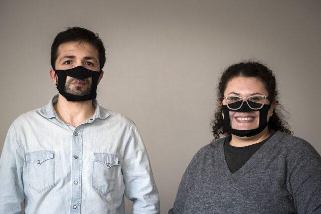 Antonietta e Marco, operatori della Cooperative Città del Sole di Bergamo