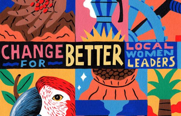 Il manifesto della campagna #changeforbetter di Fondazione Lavazza
