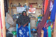 Hibaaq in her shop.